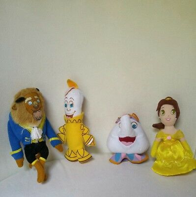 Beauty and the Beast Plush Finger Puppet