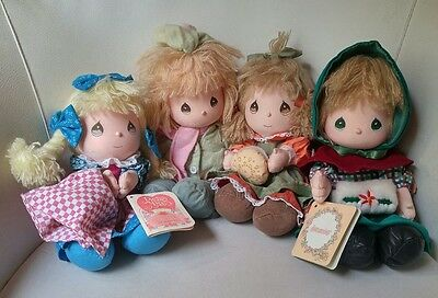 Precious Moments Plush Dolls of the Month Lot.