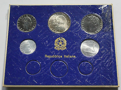 Lot of 5 Italy Lira Type Coins 1952-1965 Different Denominations
