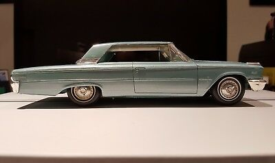 Original 1963 Ford Galaxie 2 Dr Hardtop Dealer Promo Screwbottom 1/25th Scale