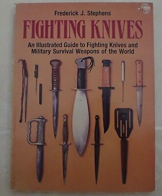 Fighting knives illustrated guide GREAT REFERENCE BOOK Military Fighting knives