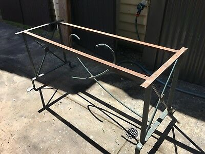 Solid Steel Outdoor Table Frame - Can Deliver