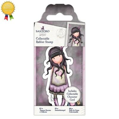 Gorjuss Rubber Mini Stamps *JAR OF HEARTS* Little Girl Card Making - 50 - NEW