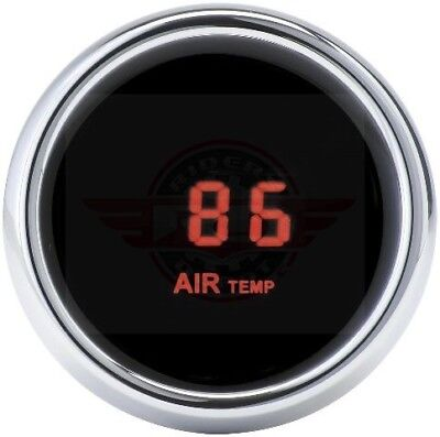 Dakota Digital - MCL-3K-T-R Auxiliary Specialty Instrument Red Air Temp Gauge