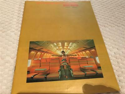 BRANIFF AIRLINES 1971 Magazine intact