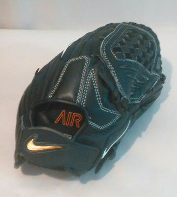 Nike Air Mens Baseball Glove size 12 inch 70% cow leather 30% synthetic leather