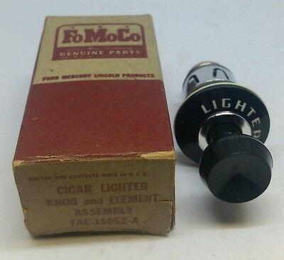 Nos 1954 Ford Crestline & Customline Cigar Lighter Assembly..new Original Fomoco
