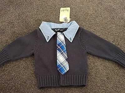 Bnwt Bardot baby boys knit top size 000
