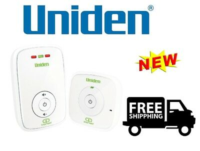 Uniden Digital Wireless Baby Audio Monitor - BW120 - NEW