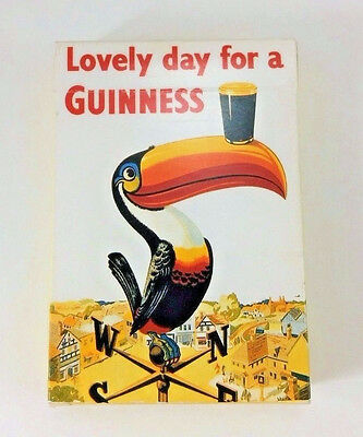 Guinness Playing Cards Lovely Day Toucan Bird Draught Beer Complete Set Vintage