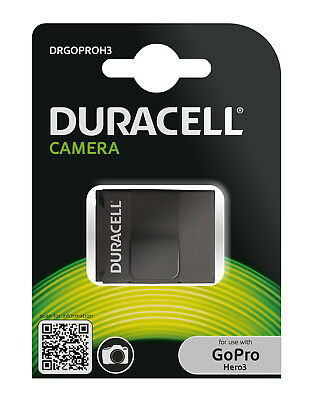 Genuine Duracell GoPro Hero 3 Battery