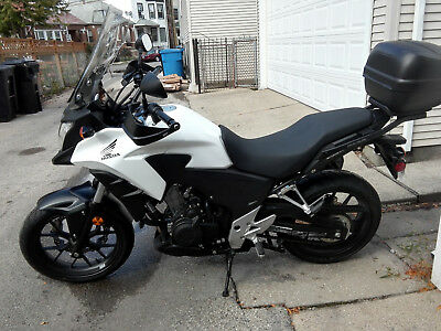 2014 Honda CB  2014 Honda CB500x : GIVI Extras : Center Stand : 5 Year Warranty : Like New : NR