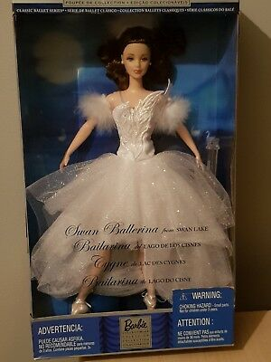 Collectors Edition Swan Ballerina Barbie Doll (Swan Lake) BN NRFB