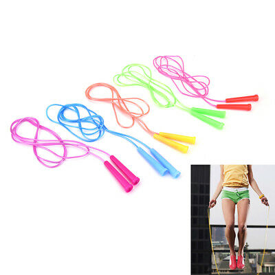 1pc.speed wire skipping adjustable jump rope fitness sport exercise cross fit PW