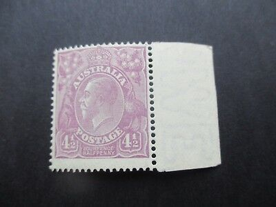 KGV Stamps: 4.5d Violet Mint - Great Item  (A33)