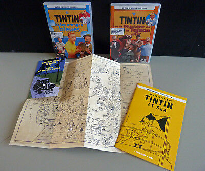 DVD Films TINTIN TOISON D'OR et ORANGES BLEUES et divers