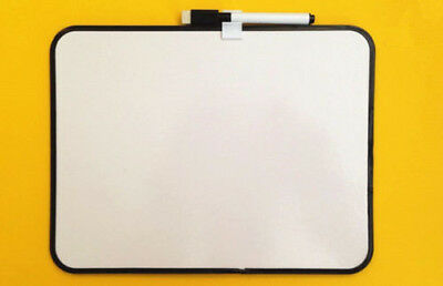 Whiteboard Portable Size White Board Dry Erase Board 20x26cm