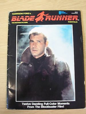 Blade Runner The Motion Picture Portfolio Harrison Ford Rutger Hauer 1st edition