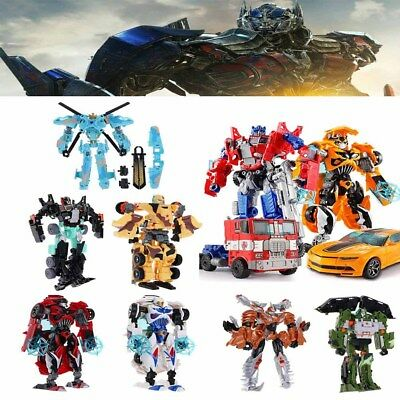 Transformers Bumblebee Optimus Prime 6'' Action Figure Kids Toy Gift  Robot Hot