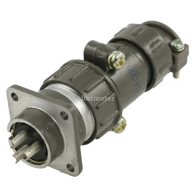 P20K3Q Jack Contact Type 3 Pins Straight Non- screen Electric Circular Connector
