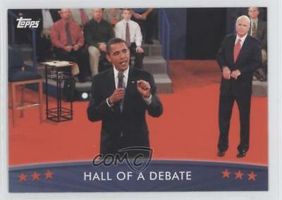 2008 Topps President Obama Collector Trading Cards #50 Hall Of A Debate Card 0s5