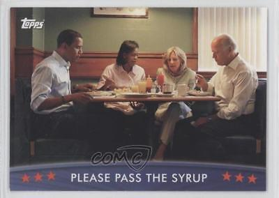 2008 Topps President Obama Collector Trading Cards #43 Please Pass The Syrup 0s5
