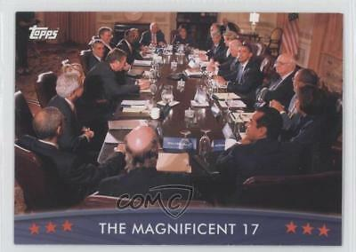 2008 Topps President Obama Collector Trading Cards #75 The Magnificent 17 0s5