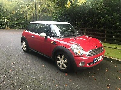2007 Mini Cooper 1.6 Petrol In Red, Mot, History, 146000 Miles, Great Condition!