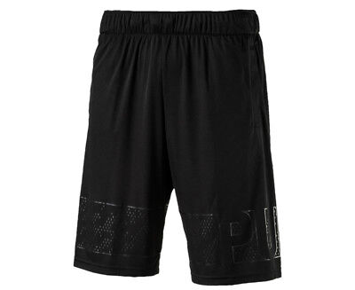 "Puma Men's Motion Flex 10"" Graphic Short - Puma Black"