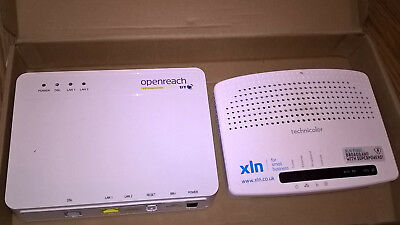 BT Openreach Box And XLN Router