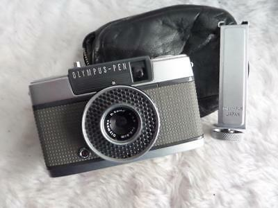 Olympus Pen EE Half Frame 35mm Film Camera: with Acc Shoe & original case