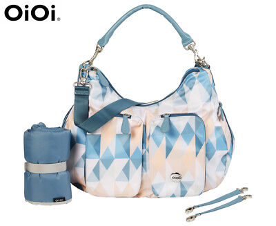 OiOi Morgan Slouch Hobo Nappy Bag - Multi