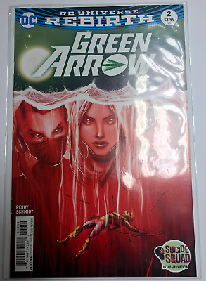 DC Universe Re Birth - Green Arrow #2 Comic