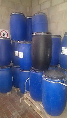 120 Litres Plastic Barrel / Drum With Lid