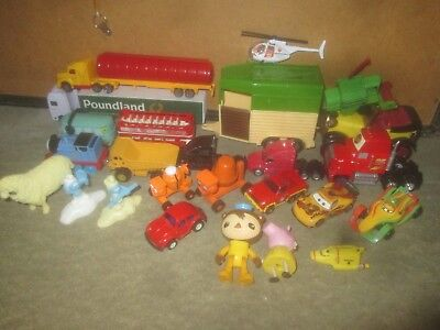 Tv Charactor Vehicles & Figures Collection Scrapyard.