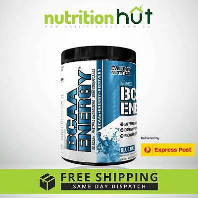 Evlution Nutrition EVL BCAA ENERGY 30 Servings Branched Chain Amino EXPRESS POST