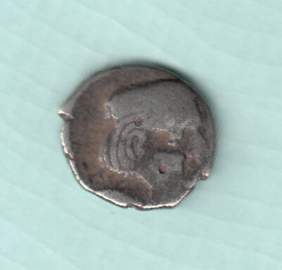 India 2000 Years Old Extremely RARE Western Kshatrapas Silver Ancient Coin 86