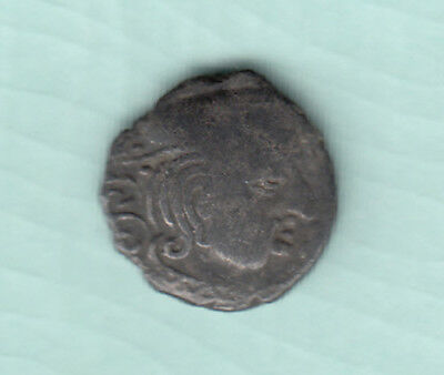 India 2000 Years Old Extremely RARE Western Kshatrapas Silver Ancient Coin 87
