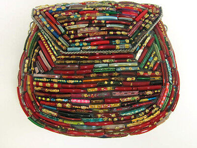 Multicolor Beaded Purse  New  Handcrafted by Artisan