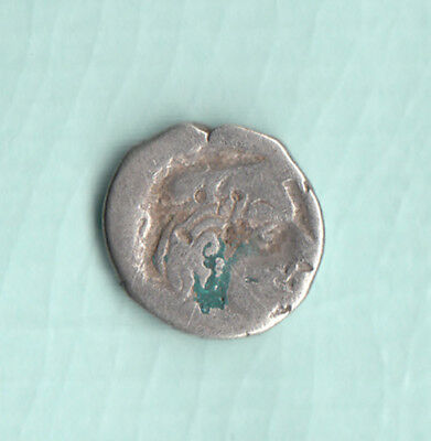 India 2000 Years Old Extremely RARE Western Kshatrapas Silver Ancient Coin 97