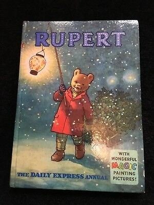 Vintage original 1960 Rupert Bear annual - price unclipped.
