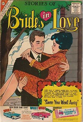Brides In Love  Number 21. Charlton  Romance. 1960. 10 Cent Issue