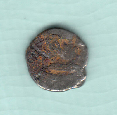 India 2000 Years Old Extremely RARE Western Kshatrapas Silver Ancient Coin A9