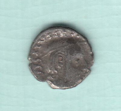 India 2000 Years Old Extremely RARE Western Kshatrapas Silver Ancient Coin A13