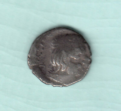 India 2000 Years Old Extremely RARE Western Kshatrapas Silver Ancient Coin A21