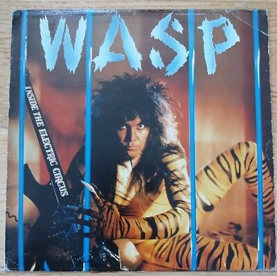 WASP* – Inside The Electric Circus - Vinyl LP - Rock
