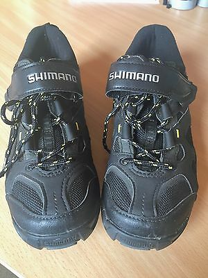 Shimano MT-43L Cycling / Spin Class SPD Shoes EU 42 With Cleats!