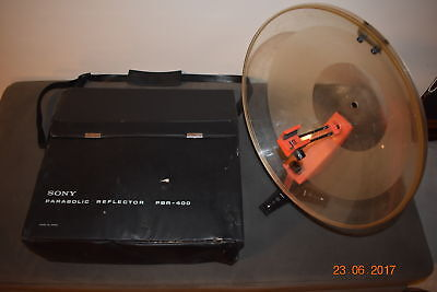 Sony Pbr-400 Parabolic Reflector For Microphone