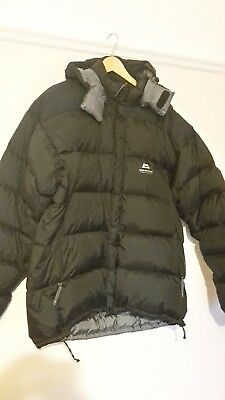 Mountain Equipment Down Jacket, Black, Size XL, Excellent Condition