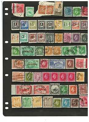New Zealand Range Used Mix Honey Seal, Dues, Arms, Social Security & Postmarks